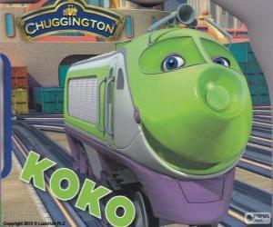 puzzel Koko, elektrische locomotief van Chuggington