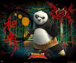puzzel Kung Fu Panda