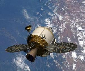 puzzel Kunstmatige satelliet, Orion