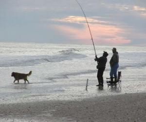 puzzel Kust Fisherman