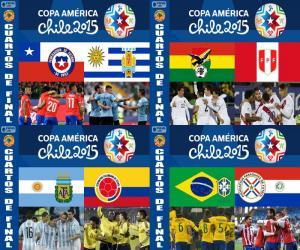 puzzel Kwartfinale, Chili 2015