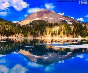 puzzel Lake Helen, Verenigde Staten