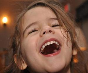 puzzel Laughing girl