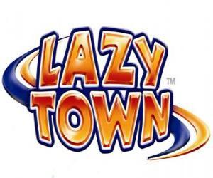 puzzel Lazy Town logo