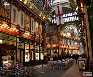 puzzel Leadenhall markt, Londen