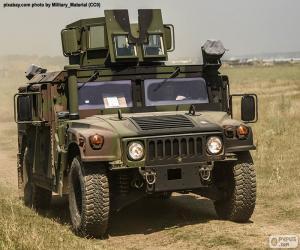 puzzel Leger Humvee