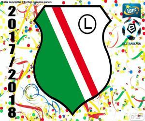 puzzel Legia Warschau, Ekstraklasa 17-18