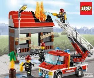 puzzel Lego brand