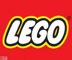 puzzel Lego logo, constructiespeelgoed