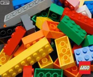 puzzel Lego stukjes