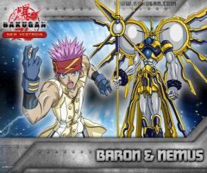 puzzel Leltoy Baron en zijn Bakugan Nemus