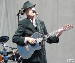 puzzel Leonard Cohen (1934-2016)