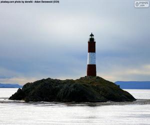 puzzel Les Eclaireurs Lighthouse, Argentinië