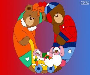 puzzel Letter O van beren