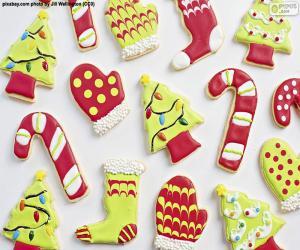 puzzel Leuke kerstkoekjes