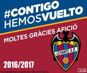 puzzel Levante UD 2016-2017