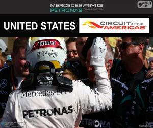 puzzel Lewis Hamilton, Grand Prix Verenigde Staten 2016