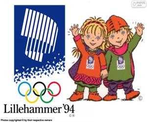 puzzel Lillehammer Olympische Winterspelen 1994