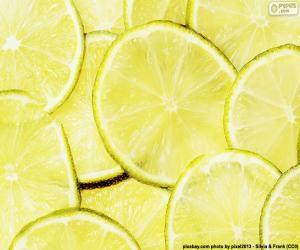 puzzel Limoen, fruit