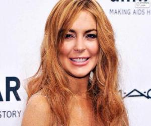 puzzel Lindsay Lohan