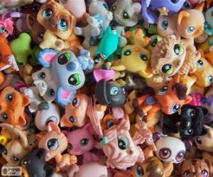 puzzel Littlest PetShop huisdieren
