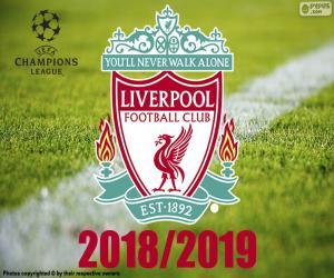 puzzel Liverpool, Champions League 2019