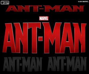 puzzel Logo van Ant-Man