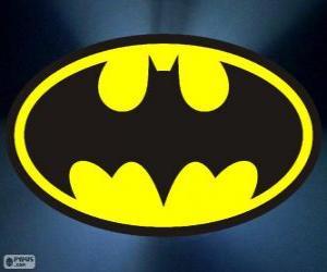 puzzel Logo van Batman, de vleermuis