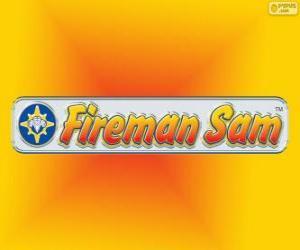 puzzel Logo van Brandweerman Sam