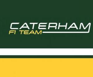 puzzel Logo van Caterham F1 Team