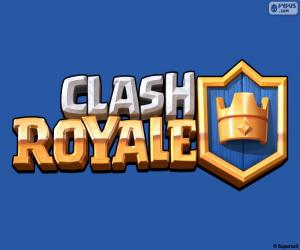 puzzel Logo van Clash Royale