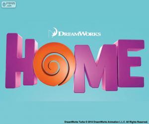 puzzel Logo van de film Home