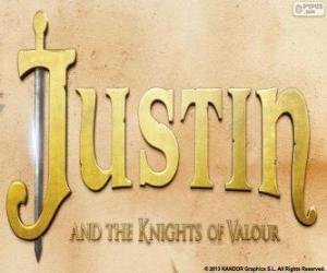 puzzel Logo van de film Jasper en Julia en de dappere ridders