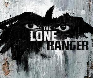 puzzel Logo van de film Lone Ranger