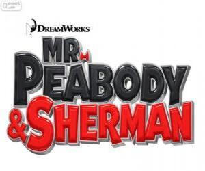 puzzel Logo van de film Mr. Peabody en Sherman