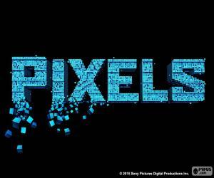 puzzel Logo van de film Pixels