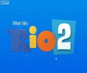 puzzel Logo van de film Rio 2