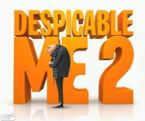 puzzel Logo van de film Verschrikkelijke ikke 2