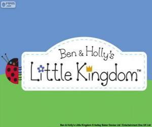 puzzel Logo van de kleine Koninkrijk van Ben en Holly