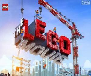puzzel Logo van de Lego-film