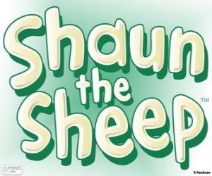 puzzel Logo van de Shaun het Schaap