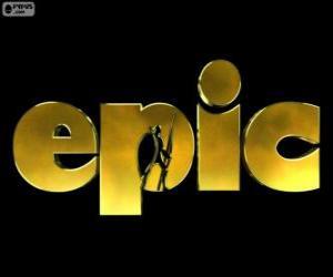 puzzel Logo van Epic