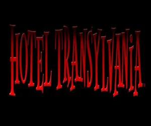 puzzel Logo van het Hotel Transsylvanië