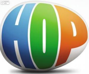 puzzel Logo van Hop, de film
