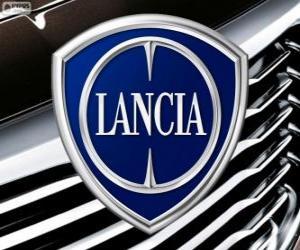 puzzel Logo van Lancia, Italiaanse merk