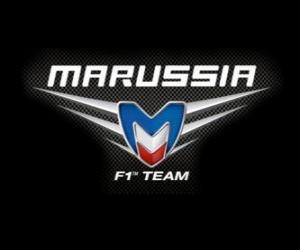puzzel Logo van Marussia F1 Team