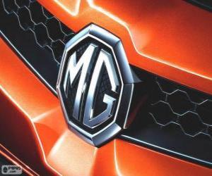 puzzel Logo van MG, merk van het Verenigd Koninkrijk