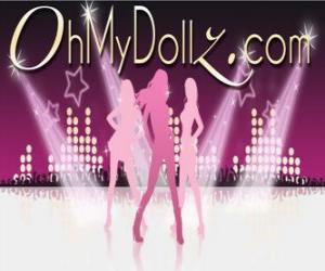 puzzel Logo van Oh My Dollz
