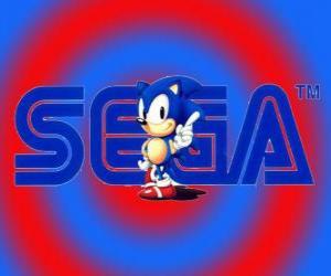 puzzel Logo van Sonic