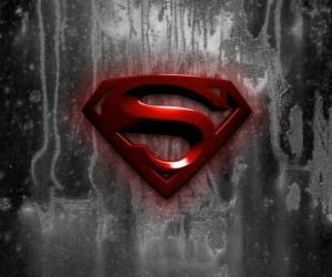 puzzel Logo van Superman